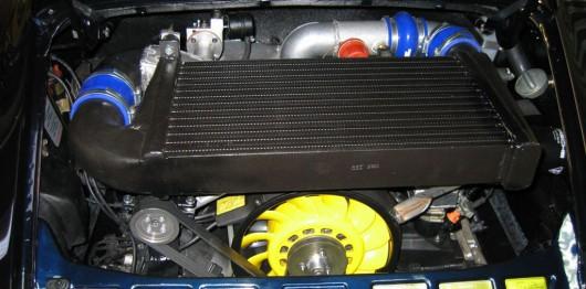 Tuning Porsche motor